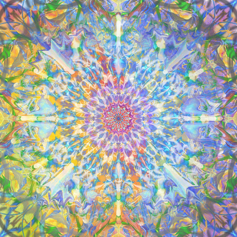 First Kaleidoscope Painting Project