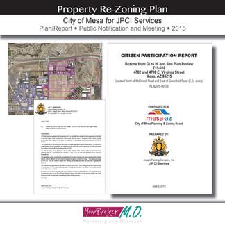Property Re-Zoning Plan