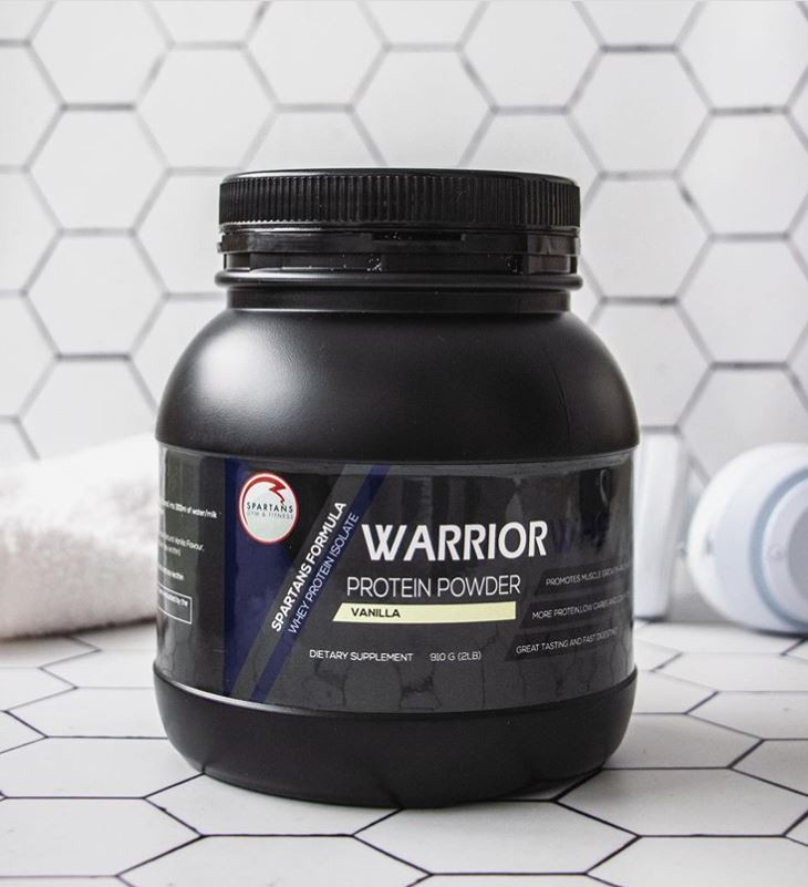 Warrior Protein Powder can be purchased at Spartans Warrior Zone Boot Camp Classes