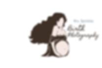 Pregnant birth photography woman logo