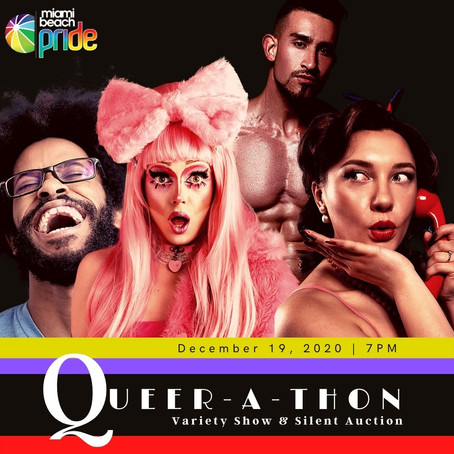 QUEER-A-THON Variety Show & Silent Auction