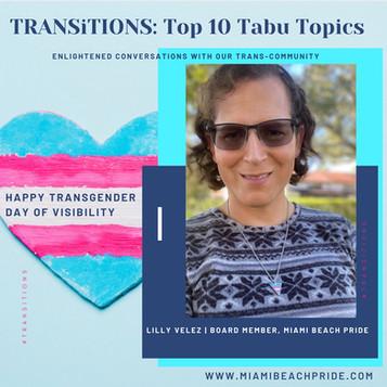 TRANSITIONS: Top 10 Tabu Topics.