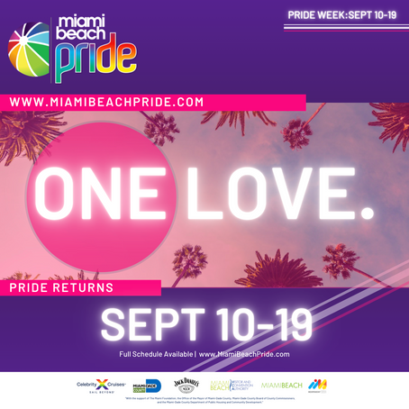 Miami Beach Pride Unveils Queer Entertainment Line-Up and COVID-19 Prevention Protocols