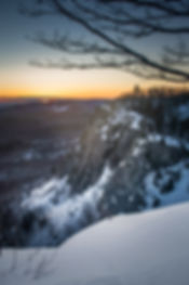 Robertson Cliffs Sunset Sault Ste. Marie Ontario