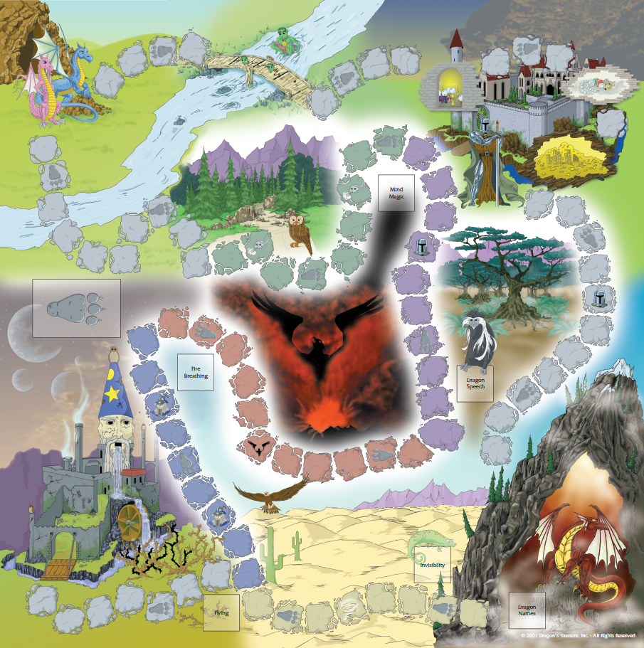 dragon's treasure game board.png