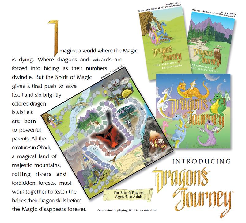 dragon's treasure books & board game ima
