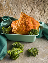 Broccoli and Cheddar Toaster Pastry