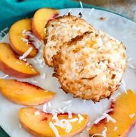 Coconut Peach Macaroon