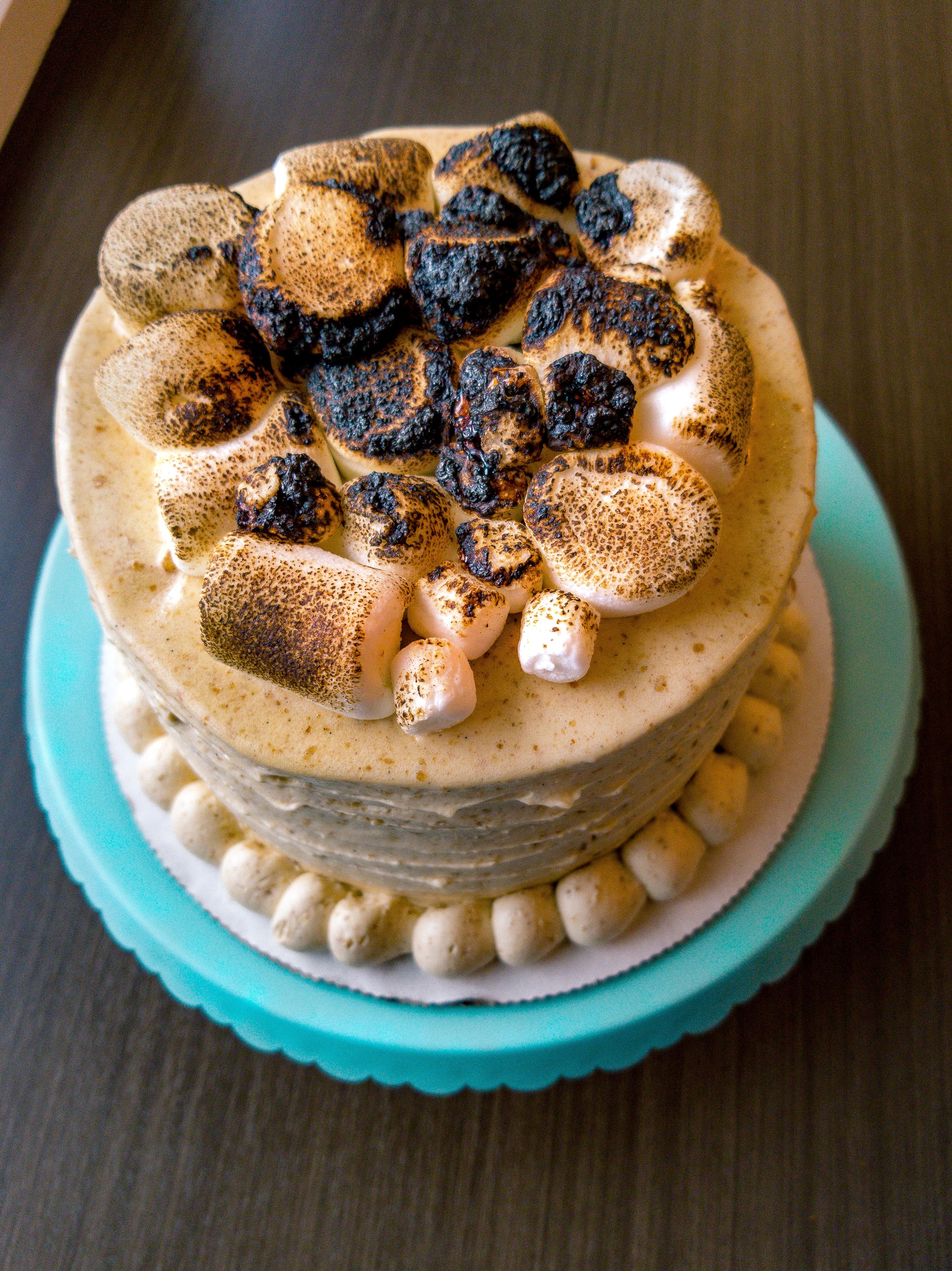 'Smores Cake