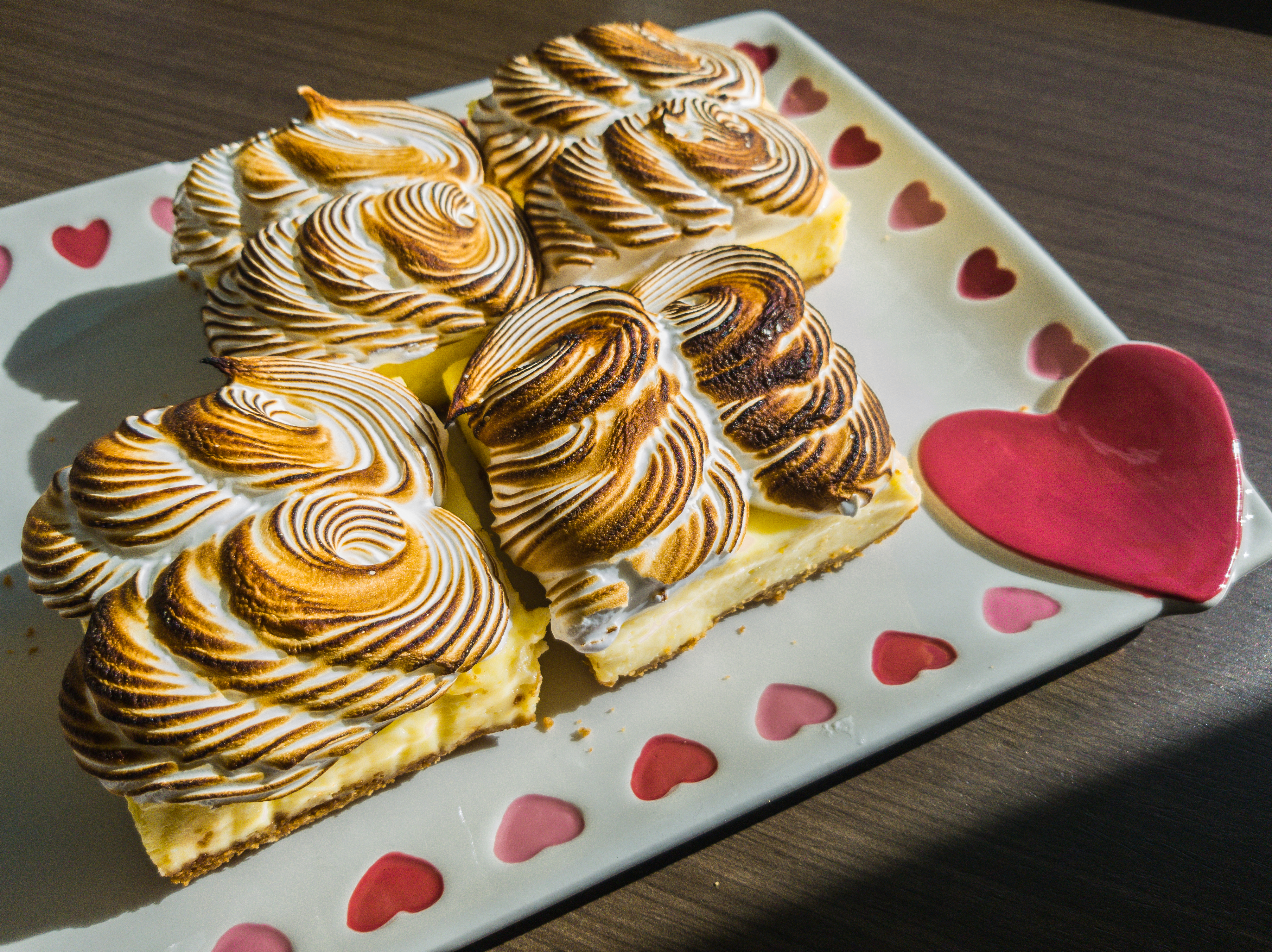 Triple Citrus Meringue Bars