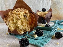 Blackberry Cornmeal Muffin