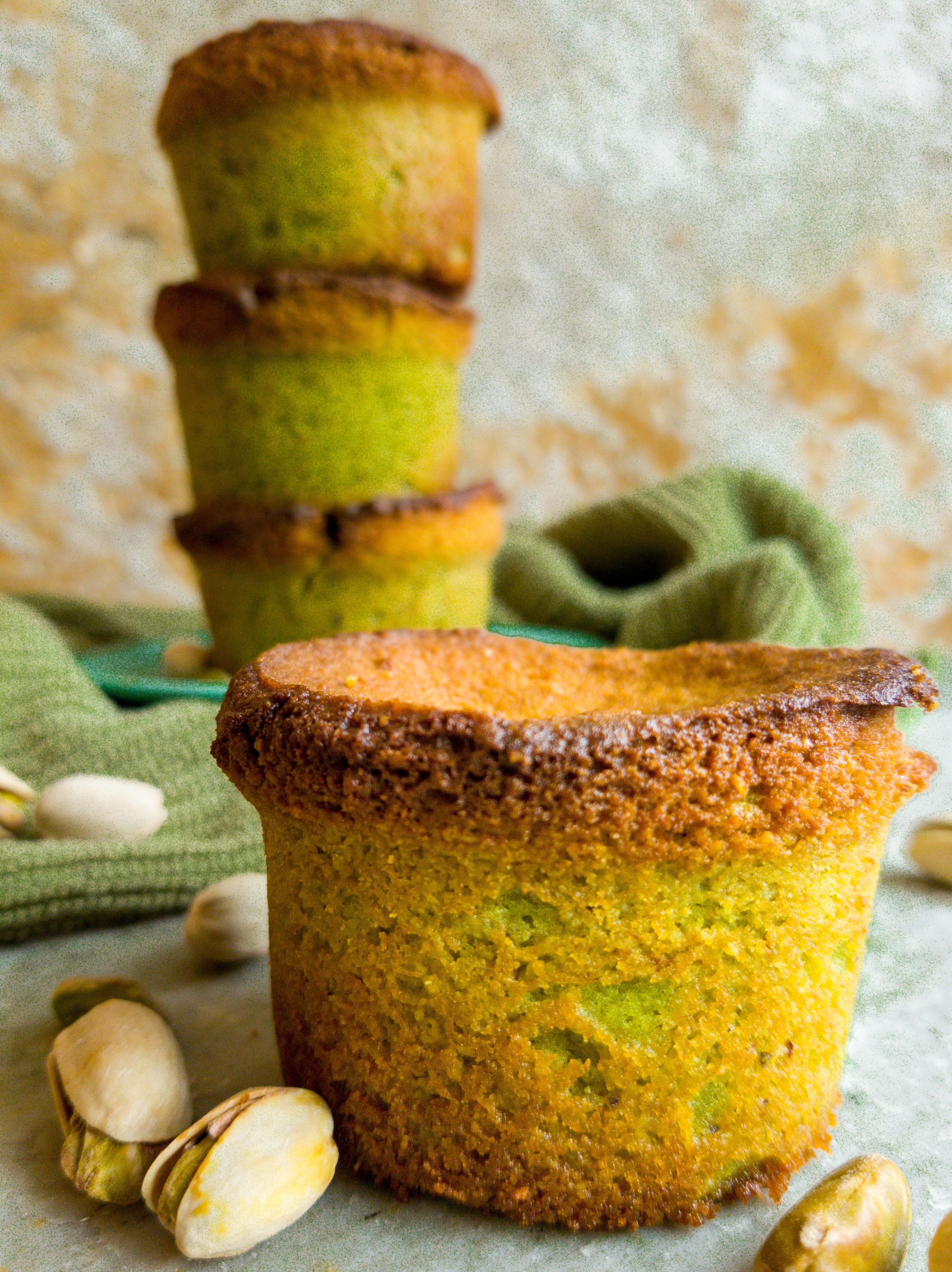 Gluten Free Pistachio Cakes