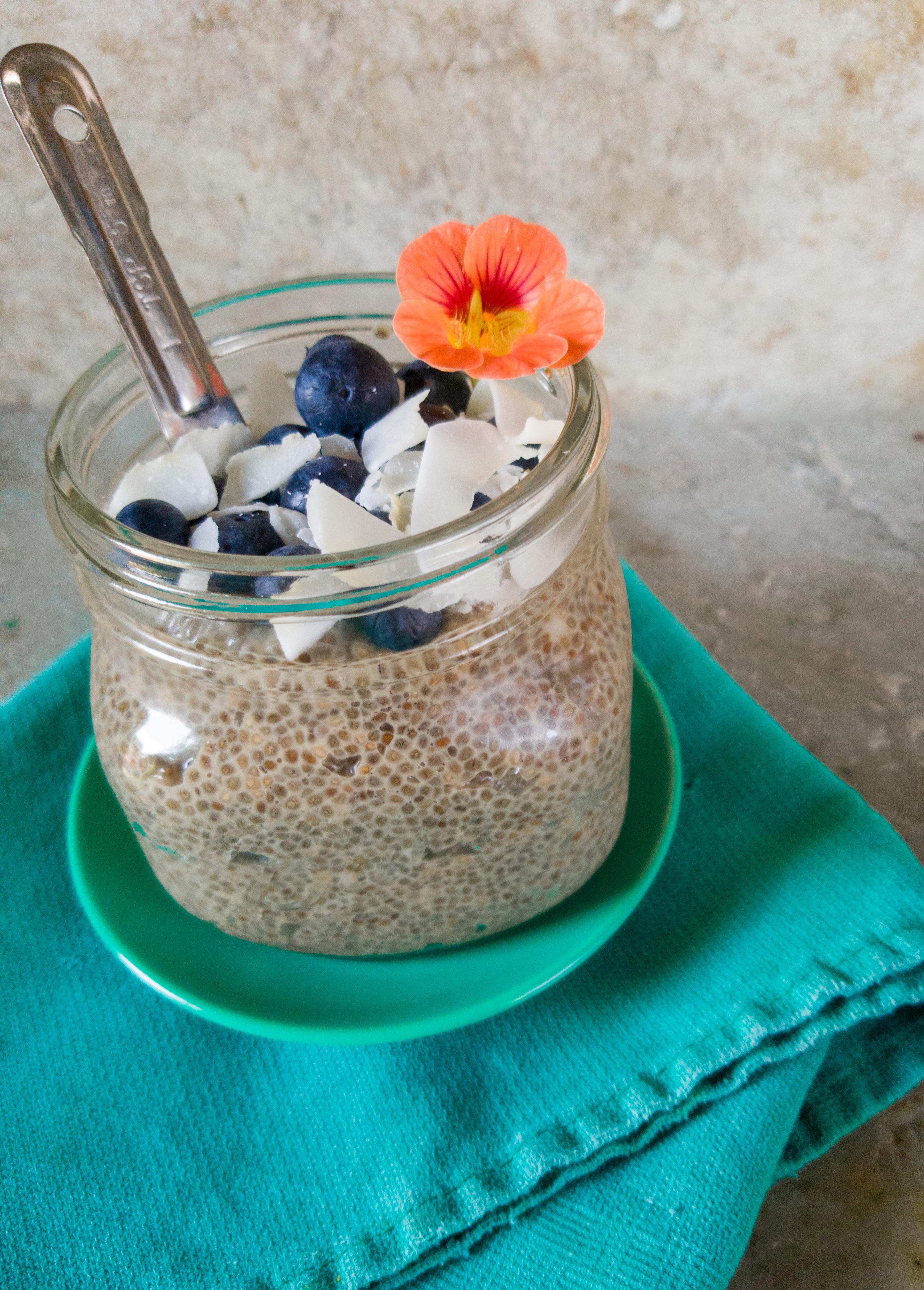 Vegan/Gluten Free Chia Seed Pudding