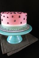 Watermelon (shaped) Cake