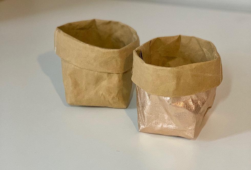 Vegetal leather bag