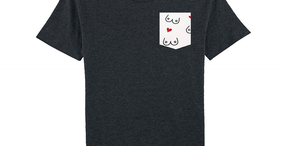 Nichons & Coeurs - organic cotton unisex T-shirt