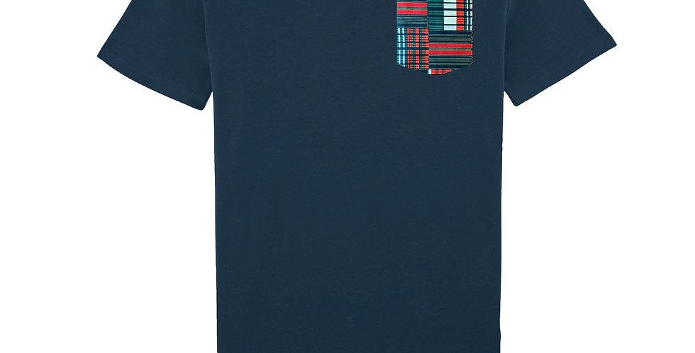 WAX green & red -organic cotton unisex T-shirt