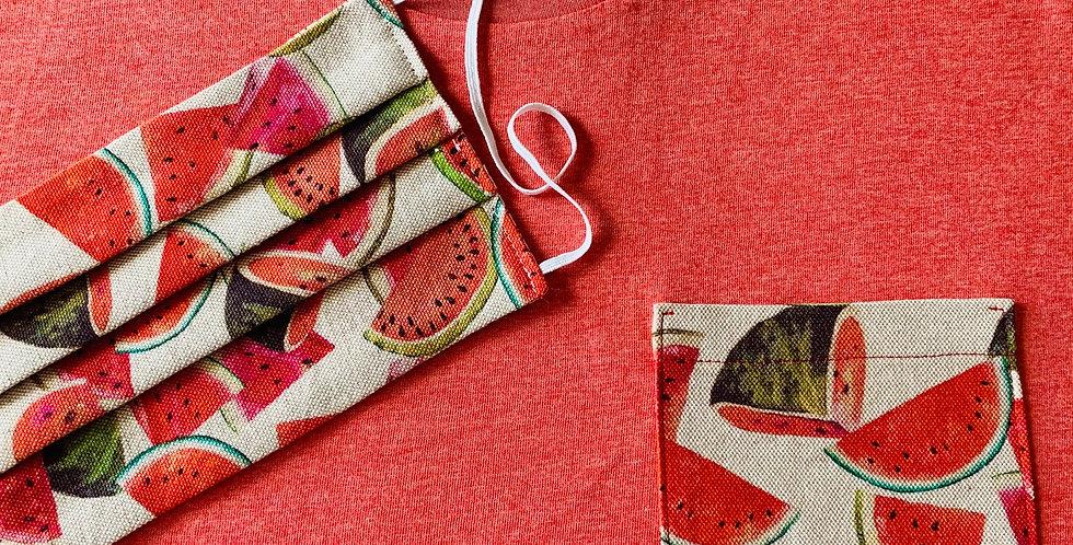 Red Pastèque - organic cotton unisex T-shirt