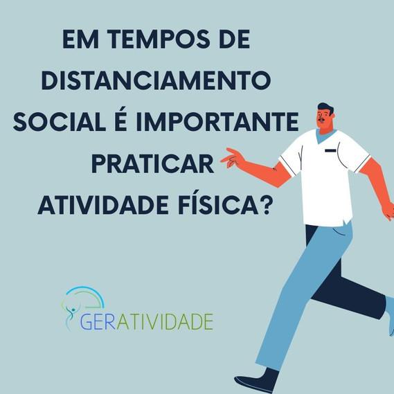 COVID-19: Em tempos de distanciamento social é importante praticar atividade física?