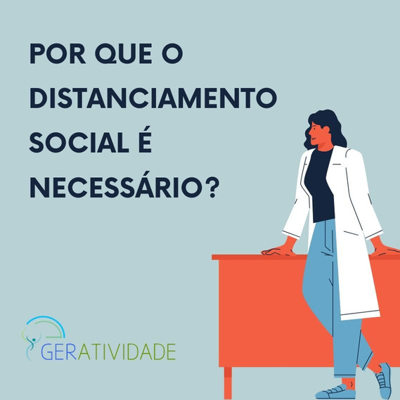 COVID-19: Por que o distanciamento social é necessário?
