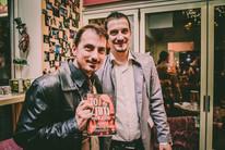 """Παρουσίαση βιβλίου """"Το σπίτι του Κάιν"""" με τον συγγραφέα Αντώνη Τουμανίδη."""