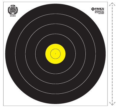 Fivics Field 80cm Target Face