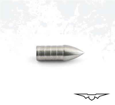 Black Eagle PS26 Glue-In Adjustable Stainless Steel Target Points (1 doz