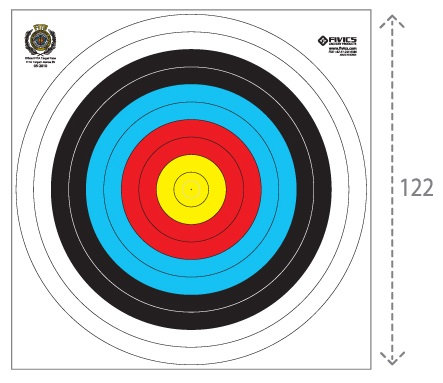 Fivics Outdoor 122cm Target Face