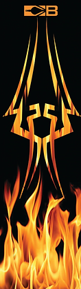 "Bohning 7"" Flame Arrow Wrap"