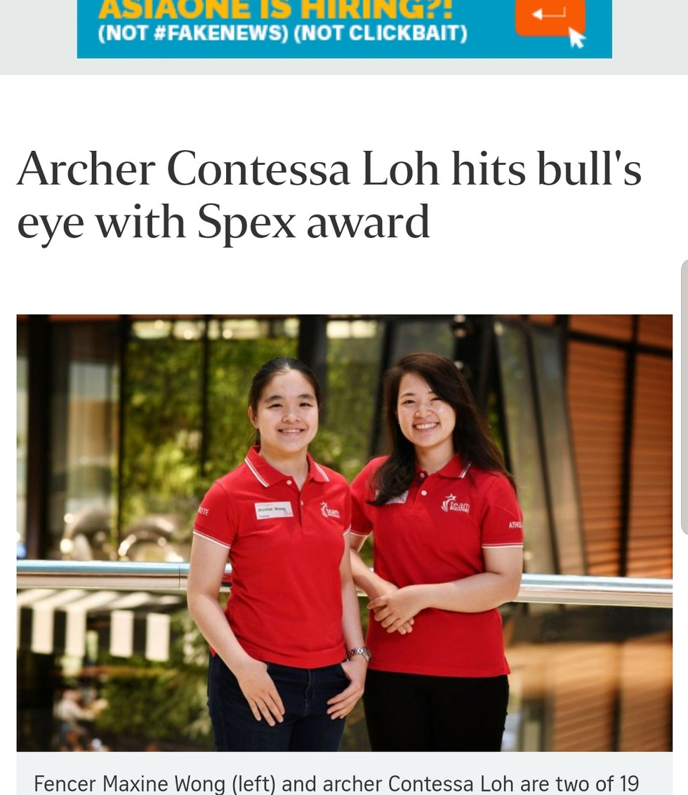 Featured by The Straits Times, Laura Chia
