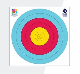 Fivics Outdoor 48cm 6ring Target Face