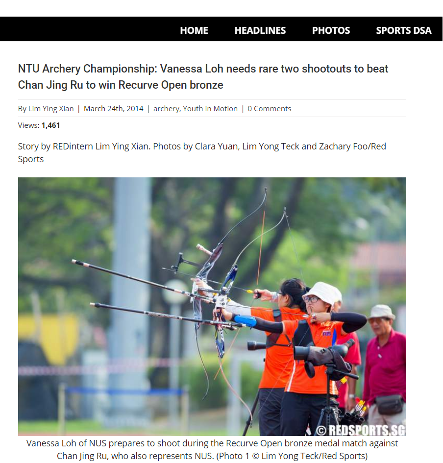 Feature by Red Sports. Lim Ying Xian