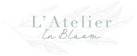 Atelier in bloom logo