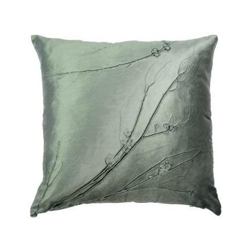 Aviva Stanoff Seeded Eucalyptus on Cinder Cushion