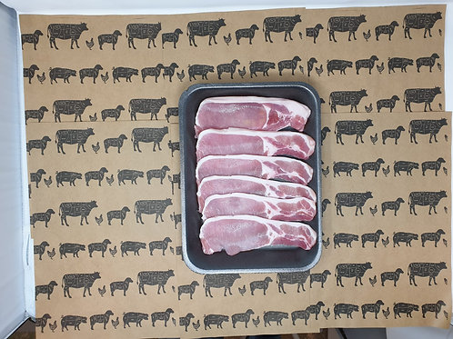 8 rashers dry-cured Bacon 450g