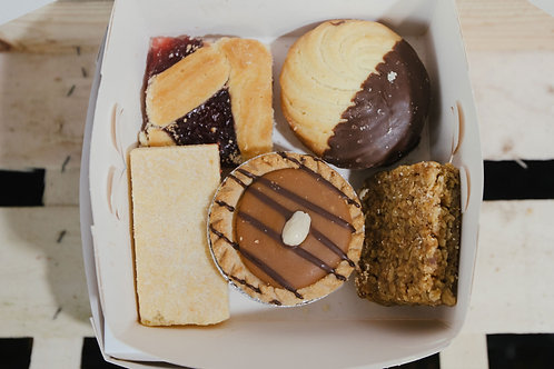 x5 Mixed Cake & Biscuit Selection