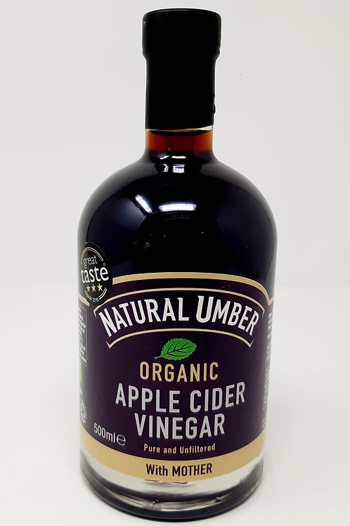 Natural Umber Organic Apple Cider Vinegar With Mother 500ml