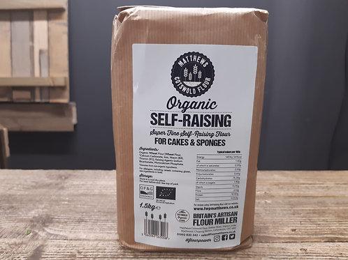 Cotswold Flour Organic Self-Raising 1.5kg