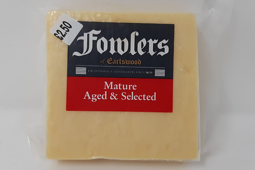 Fowlers Mature Cheddar 200g