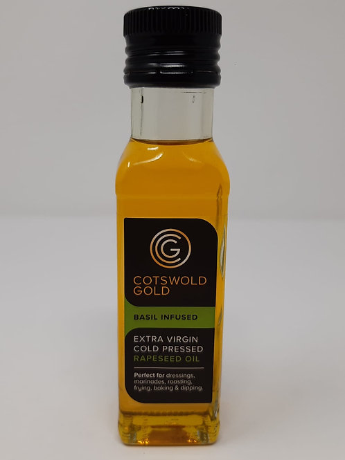Cotswold Gold Basil Infused Oil 100ml.