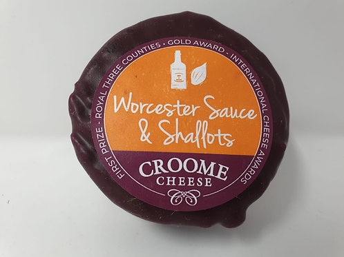 Croome Cheese Worcester Sauce & Shallots 150g