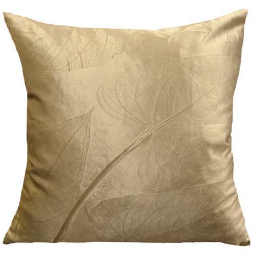 Aviva Stanoff Heart Leaf on Glaze Cushion