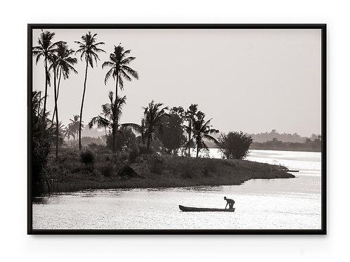David & David Studio Togo Lake Framed Print