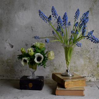 Caroline Clements wedding Flowers table settings