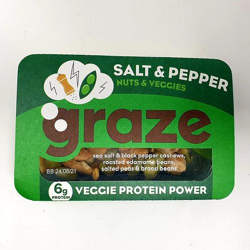 Graze Salt & Pepper Nuts & Veggies