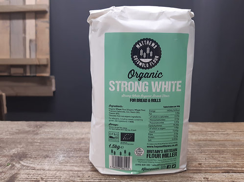 Cotswold Flour Organic Strong White 1.5kg