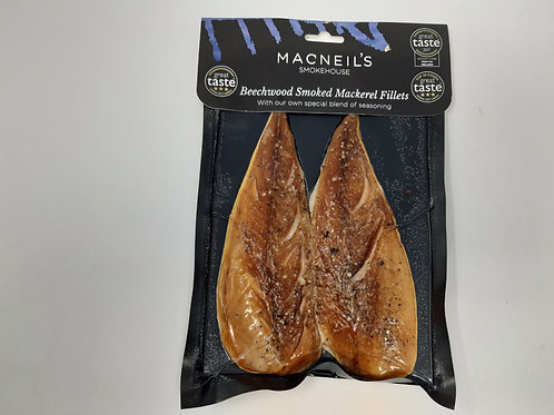 MACNEILS Smoked Peppered Mackerel Pair