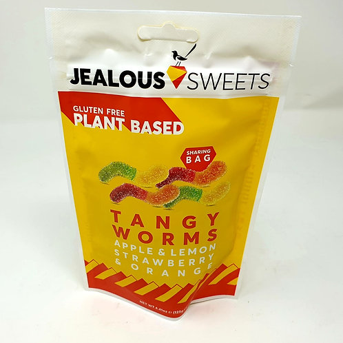 Jealous Sweets Tangy Worms 125g