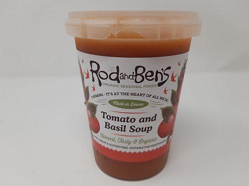 Rod & Ben's Tomato & Basil Soup