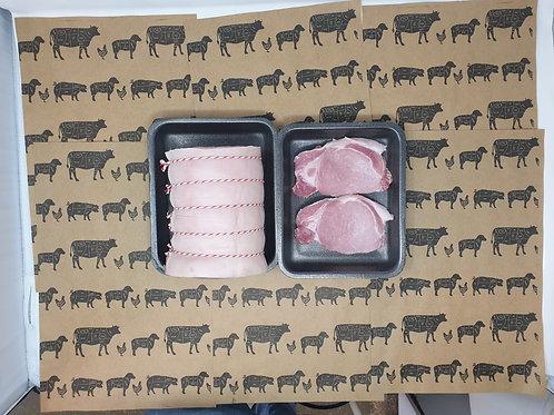 Pork Loin 1kg (for 4 people)